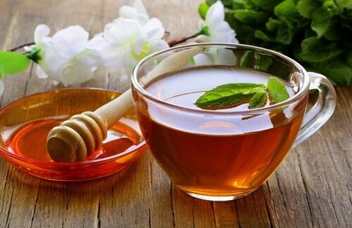 Vinegar tea infustion