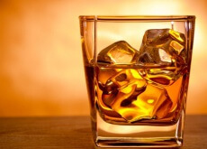Alcohol on ice