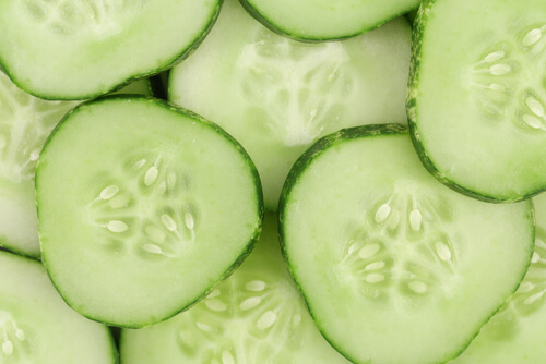 Cucumber-slices