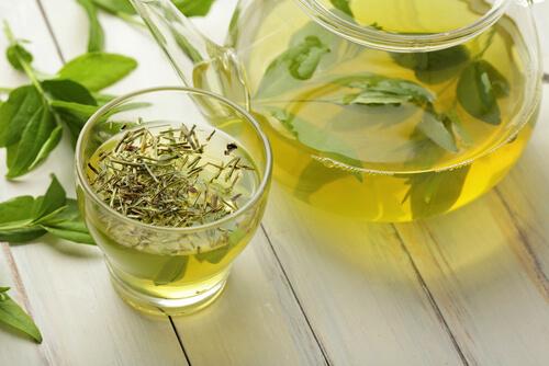 Green-tea infusion