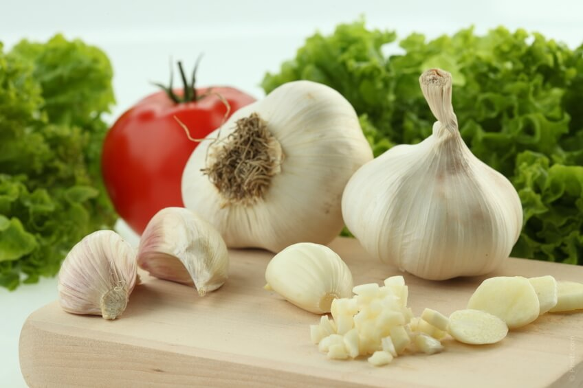 Beat high blood pressure with garlic