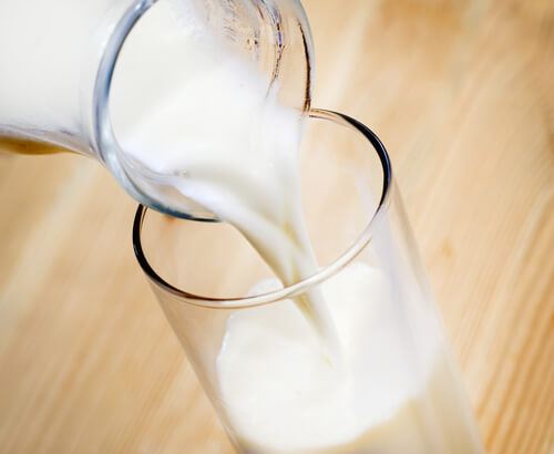 Lose weight with milk