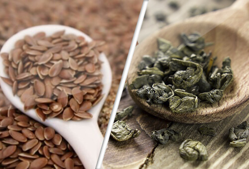 Your Friends in the Fight Against Cancer - Flax and Green Tea