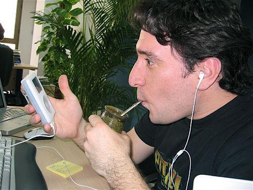 Drinking mate
