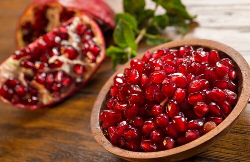 Cleanse Arteries with Pomegranate