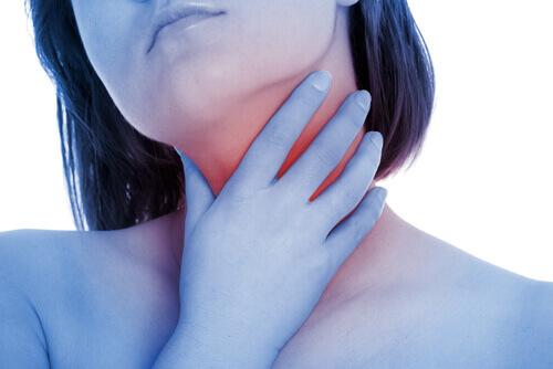 Olive throat