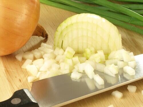Wound onion