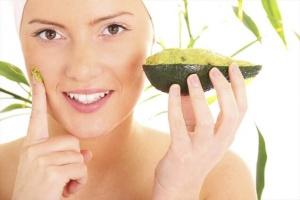 Avocado skin mask