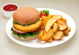 Avoid fatty foods to beat cellulite