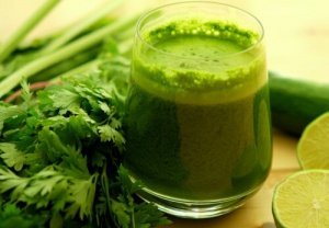 Parsley green drink