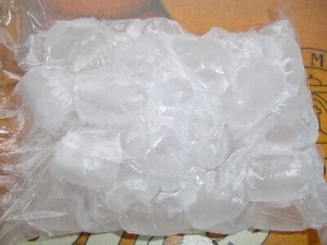 Pack of ice