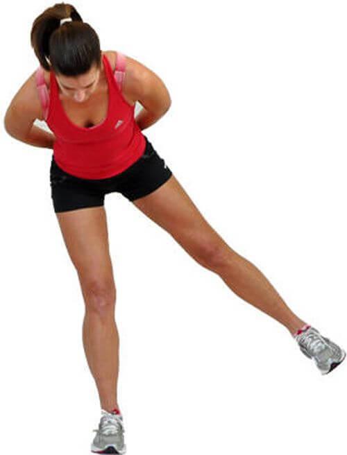 leg flexes
