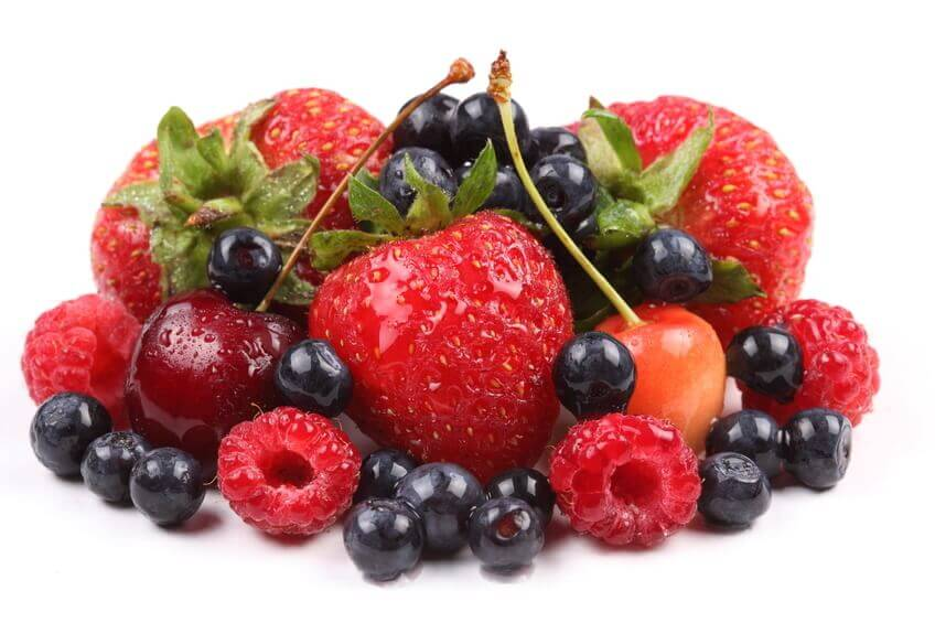 mixed Red-fruit