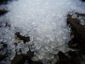 Crystallised sugar