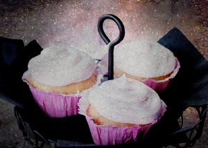 Sugar topped cupcakes
