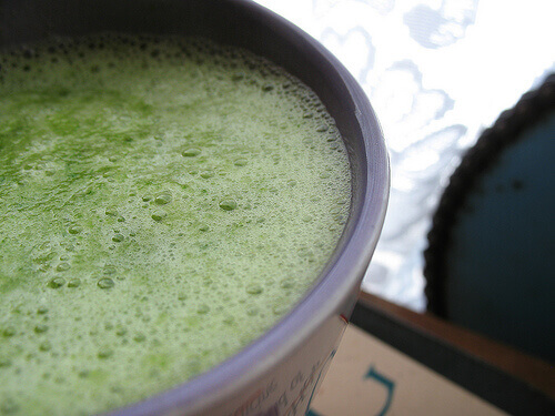 Green smoothie top