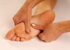 Bottoms of feet