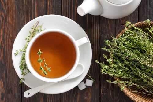 Tea and thyme