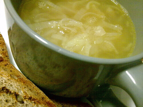 Onion Soup for Healthy Kidneys