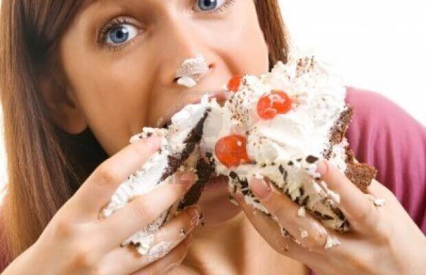 Greedy cake eater