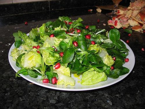 Leafy salad