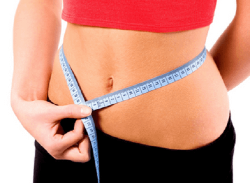Weight loss in stomach