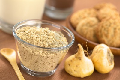 Powdered maca root