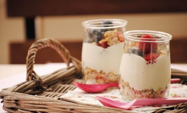 healthy breakfast two