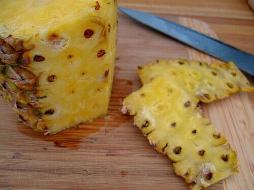 pineapple-skin