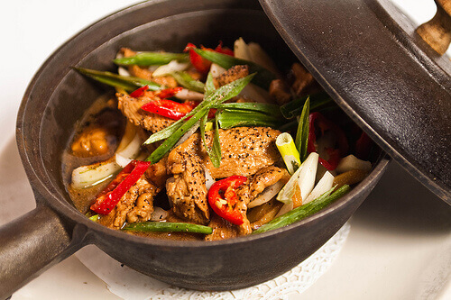 Skillet dish