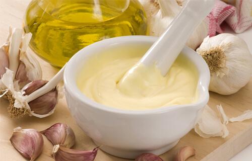 Creamed garlic