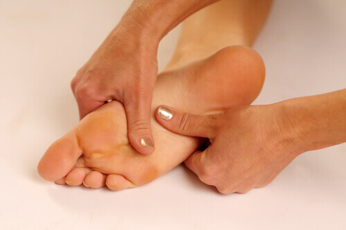Painful plantar heel