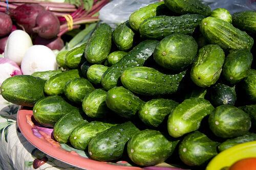 Cucumber stack