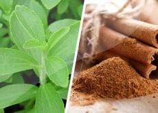 Cinnamon and stevia