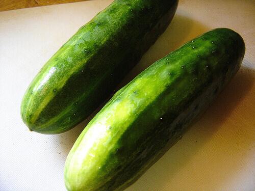 Cucumbers whole